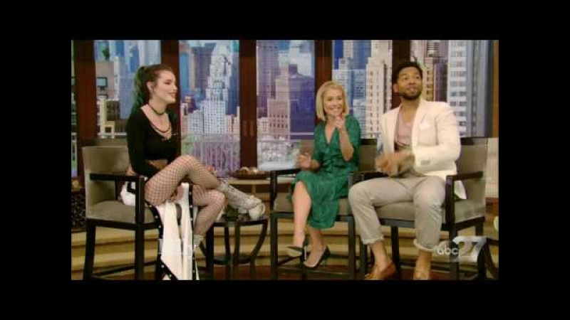 BELLA THORNE interview Live with Kelly 04/19/2017