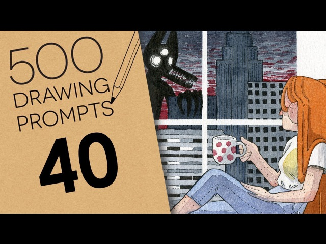 500 Prompts 40 - DESTRUCTION OUT THE WINDOW
