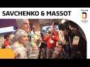 Olympiasieger Aljona Savchenko und Bruno Massot kommen im deutschen Haus an 🥇 Team Deutschland