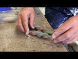 Pottery Video: How to make an agateware platter with John Dawson