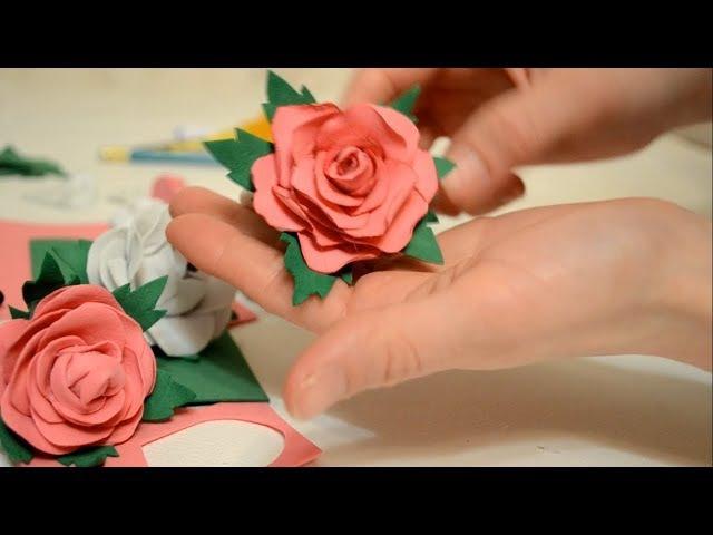 Роза из ФОАМИРАНА. Часть 1 / Craft foam ROSE. Part 1