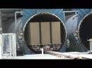 Видеообзор с производства автоклавного газобетона наоборудовании Masa Henke