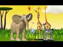 Funny Animals Cartoons Compilation Just for Children To Have Fun HooplaKidz TV