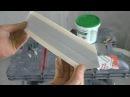 Как подготовить углы под покраску Лента Strait flex