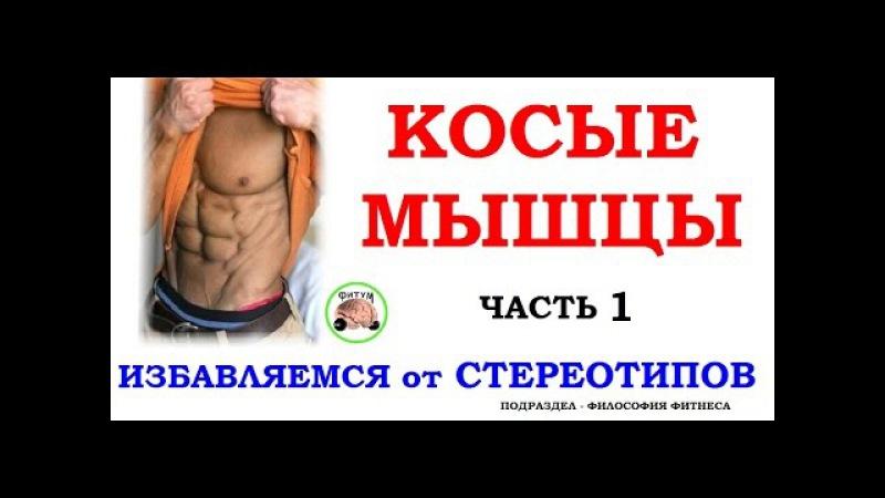 Косые мышцы - разбираем 3 стереотипа