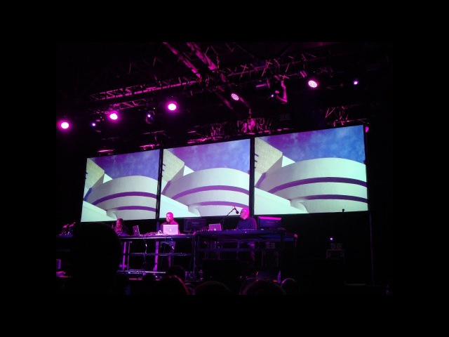 Karl Bartos (ex. Kraftwerk) - Atomium (live in Saint Petersburg 14.11.2013)