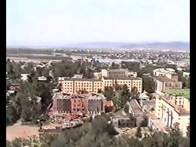 1996 Ulan-Ude Улан-Удэ панорама с крыши гостиницы Бурятия