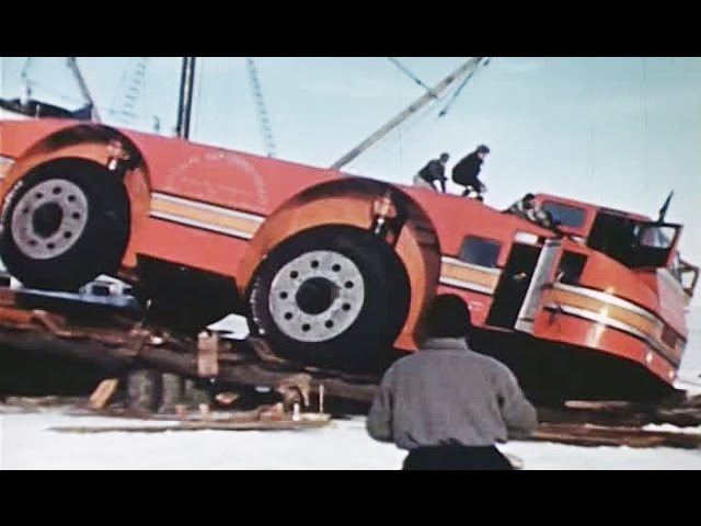 The Penguin - Antarctic Snow Cruiser - Mysterious Snow Cruiser