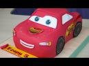 3д торт Молния Маквин из м/ф Тачки /3D cake, Lightning McQueen from Carscartoon Я - ТОРТодел