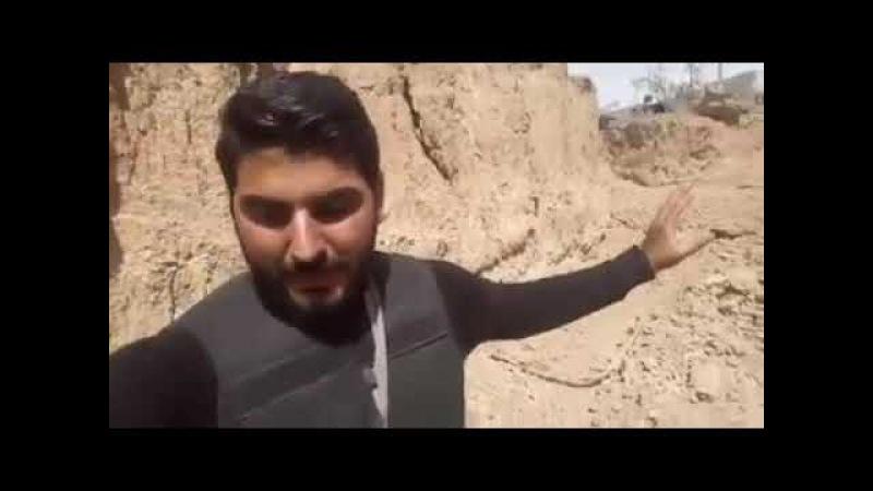 Крупнейшая траншея логистических поставок для вооруженных групп в Хараста в Восточном Ghouta