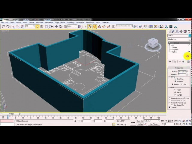 How to import Autocad file in 3ds Max (Urdu English Subtitle)