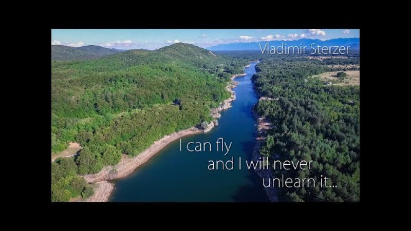 I can fly and I will never unlearn it. A beautiful video shot from a drone. Vladimir Sterzer