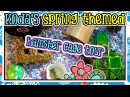Koda's Spring Themed Hamster Bin Cage Tour March 2015