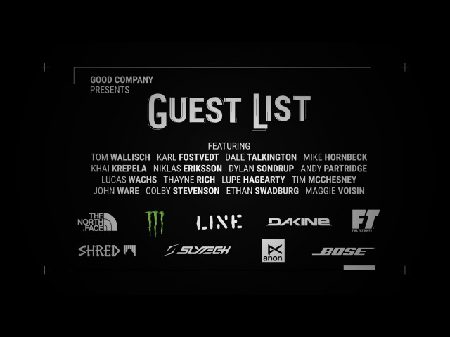 Guest List - Official Trailer by Good Company