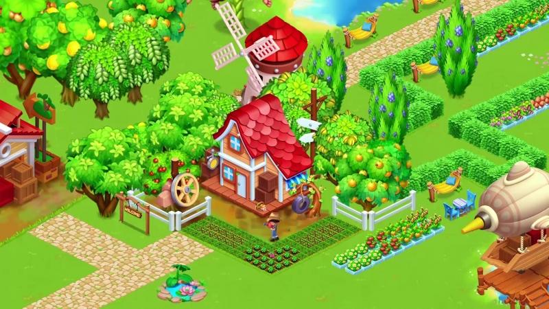 Семейная Ферма соберем богатый урожай!