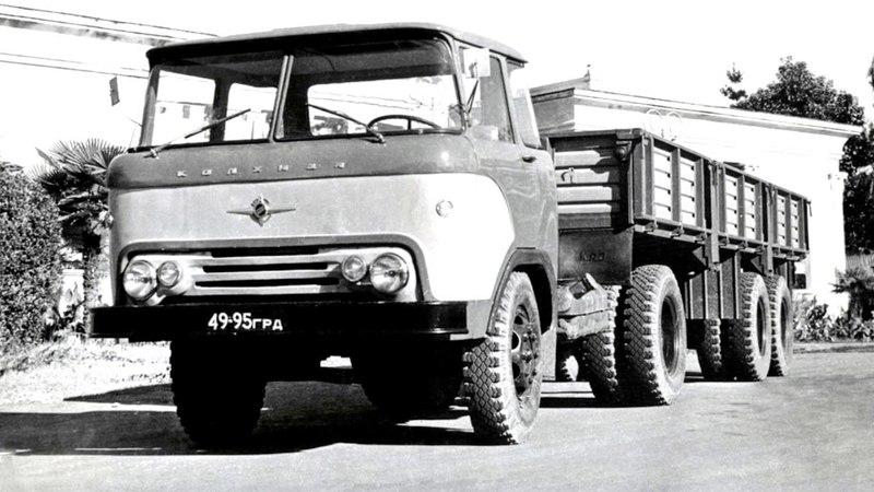 КАЗ 608Б Колхида Предсерийный 1965 67