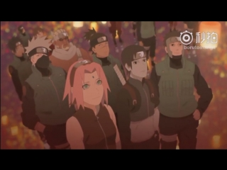 [БЕЗ ТИТРОВ] Naruto Shippuuden Ending 38 Наруто Шипуден Эндинг Ураганные Хроники SasuNaru