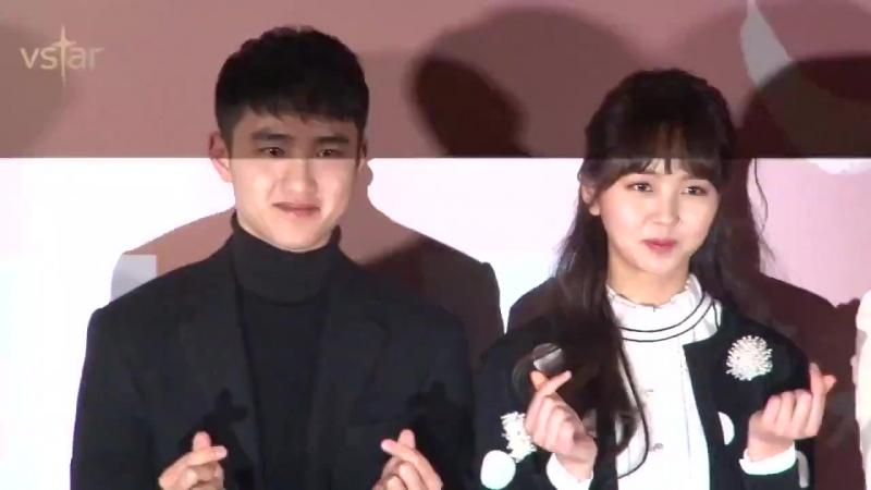 160126 EXO DO @ Pure Love Press Premiere 영화 '순정' 충무로 꽃청춘들 (도경수.김소현.주다영.연준석.이다윗)
