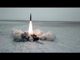 Боевой пуск баллистической ракеты