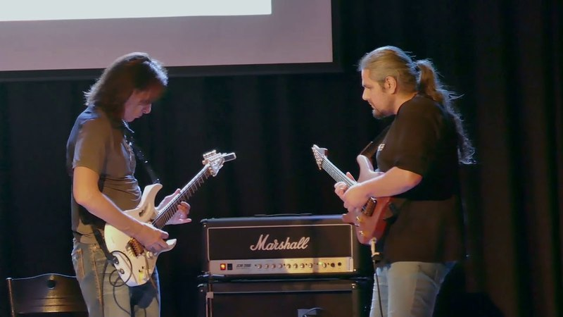 Jamming with Mr Steve Vai (Athens, 20.03.18)