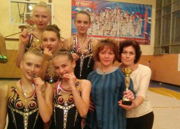Гимнастки из Зеленчукской призеры групповых соревнований в Минводах