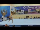 Николаева Юля. вольные. финал. 2 место. 12,833
