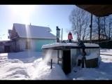 Прыгаем в снег xD
