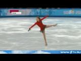 ОИ2014 Сюжет о Юлии Липницкой на Первом канале после победы в командном турнире ОИ Сочи 2014