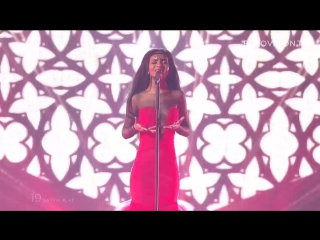 Aminata - Love Injected (Latvia) LIVE at the Eurovision 2015