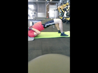 Starting Routine at Gym Fitness Loverback helper Reverse Hyperextension Hip Mobility Inversion Therapy for Spine   Yo