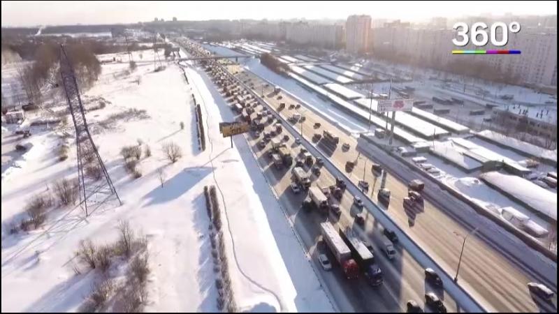 Крупные магистрали «расширят» за счет разметки