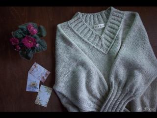 Презентация нового удлиненного пуловера!