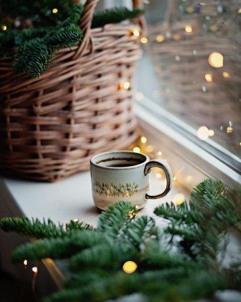 Воздушный горячий шоколад с кофе с апельсином