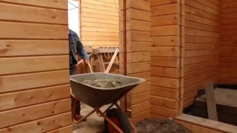Из какого материала лучше сделать пол в бане