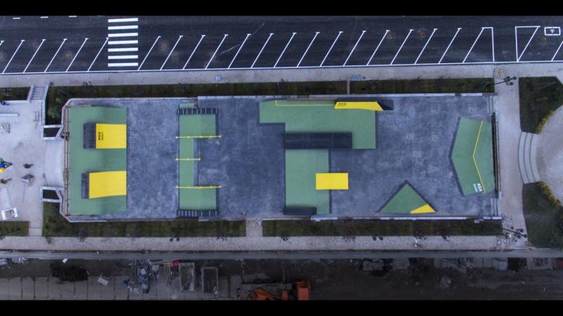 Скейт парк XSA Ramps  Skate Plaza   г.Ростов-на-Дону   ж/к Красный Аксай
