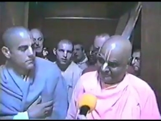 Sri Srimad Gour Govinda Swami - Моя проповедь для проповедников! (Амхерст, США. 31.05.1995)