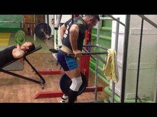 Сорокин Дмитрий брусья 20 кг
