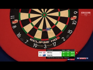 Ian White vs Cody Harris (PDC World Darts Championship 2018 / Round 1)