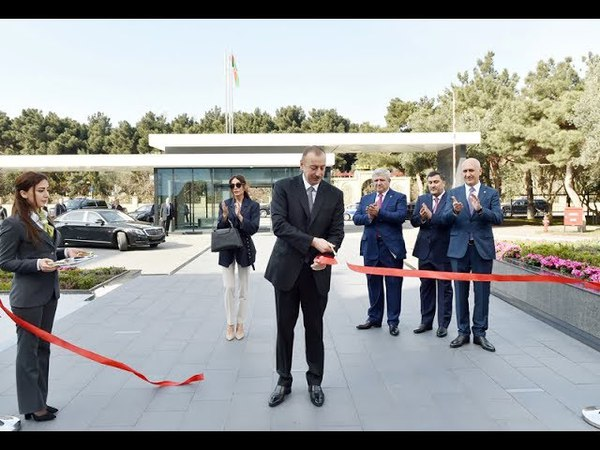 Prezident Bakıda Bona Dea Beynəlxalq Hospitalının açılışında iştirak edib