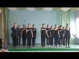 9 А, 9 Б инсценировка песни Кукушка, май 2016 г