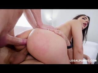 Pornstar Valentina Nappi Fucks 2 Cocks At Once [A2M, Asslicking, Rimming, DP, Anal, Gape, Toys]