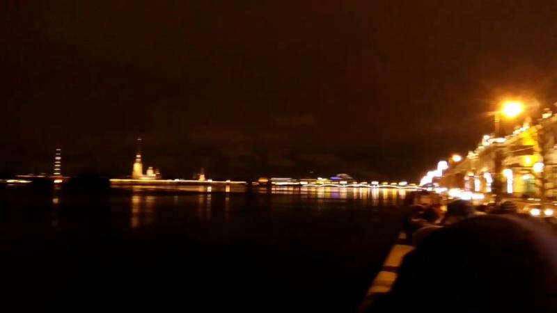 31 декабря 2017, Дворцовая набережная и Дворцовый мост