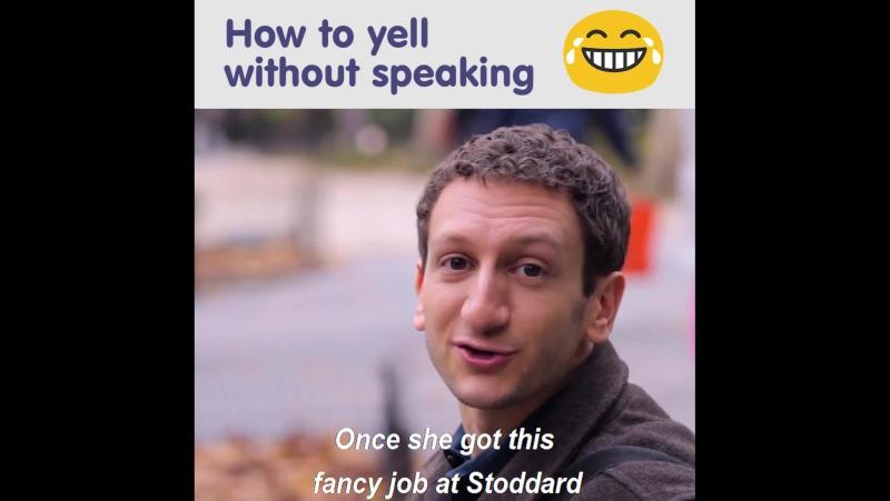 Из жизни переводчика на жестовый язык в Нью-Йорке (англ., ASL)