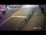 Наезд Lexus на пешеходов в Харькове