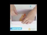 Как правильно складывать целлофановые пакеты