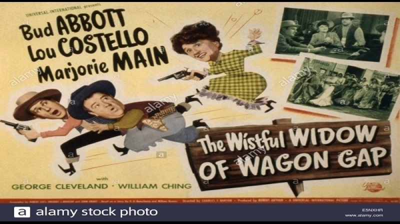 1947 Abbott Costello - The Wistful Widow Of Wagon Gap - Charles Barton
