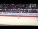 Дарья Трубникова - обруч многоборье Квалификационный отбор на ЮОИ