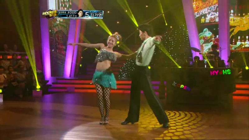 Kim HyoYeon feat. Kim Hyung-Seok - LeAnn Rimes Can't Fight The Moonlight (Cha-Cha-Cha) Dancing With The Stars