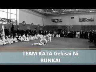 Team Kata Gerisai Ni BUNKAI применение ката в бою