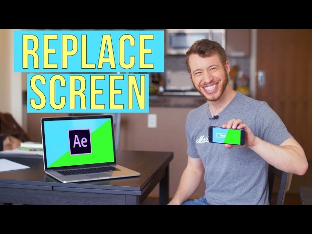 How To Do A Screen Replacement In After Effects - After Effects Screen Replacement Tutorial
